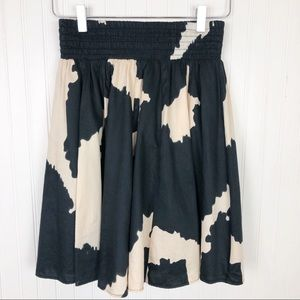 Zara Basic Cowprint Skirt
